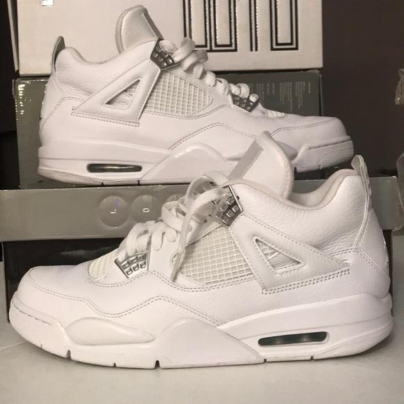 Shoes | Air Jordan 4 Retro 25th Silver